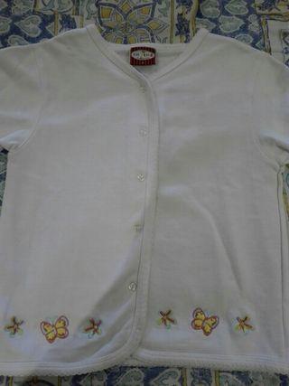 Chaqueta de algodón talla 4 impecable.