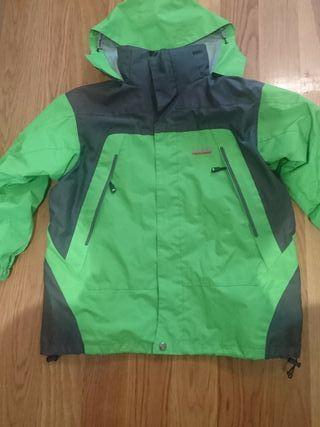 chaqueta dos usos invierno y chubasquero