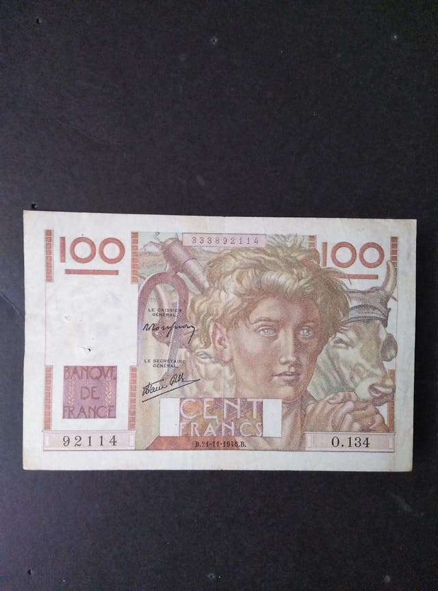 Francia 100 francos de 1946.