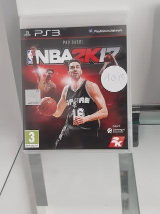NBA2K17 PS3