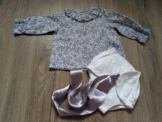 Conjunto camisa y ranita