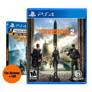 THE DIVISION 2 COMO NUEVO PS4