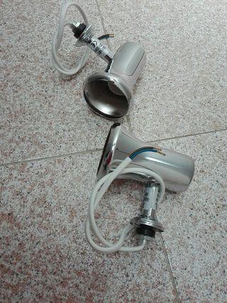 dos focos para baño, nuevos