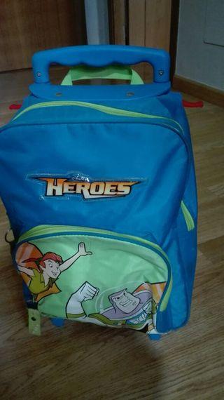 Mochila infantil Héroes