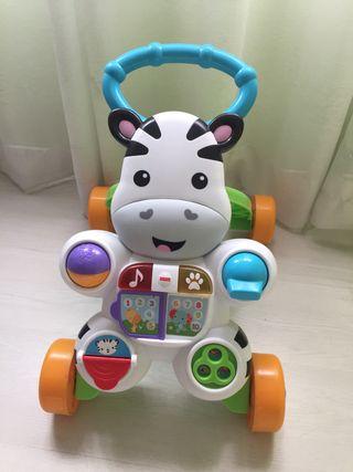 Andador cebra juguete Fisher Price