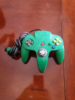 Mando verde Nintendo 64