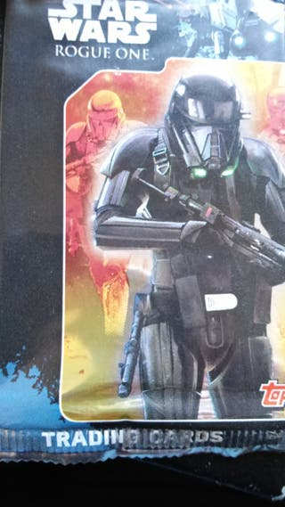 STAR WARS SOBRES DE CARDS DE ROGUE ONE