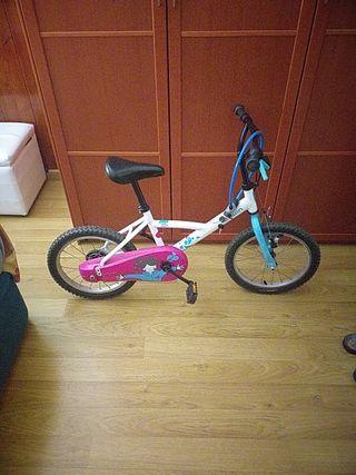 Bicicleta para niños.