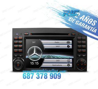 """RADIO 7"""" MERCEDES USB GPS TACTIL HD"""