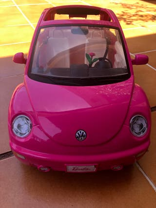 Coche barbie rosa