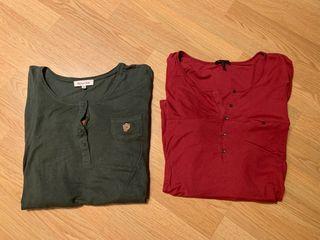 Camisetas Massimo Dutti manga larga