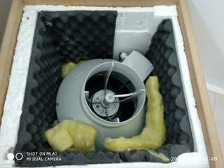 Extractor 150mm 80w