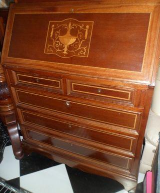 transporte 20) escritorio /comoda con marqueteria