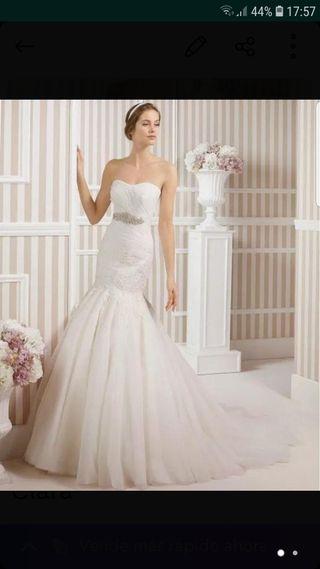 9e17fd944 Vestido de novia Rosa Clara de segunda mano en la provincia de ...