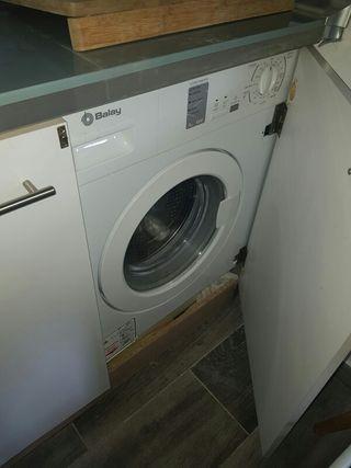 lavadora 7kg empotrable balay
