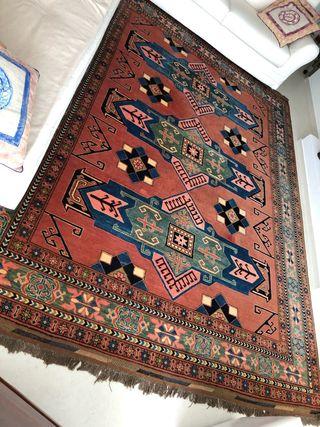 Fantástica alfombra persa
