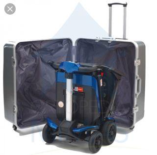 maleta extra grande para scooter nueva