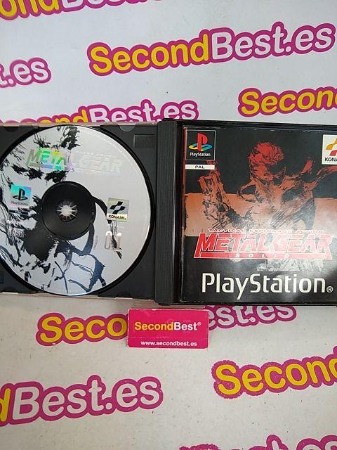 Juego Metal Gear Solid para PS1