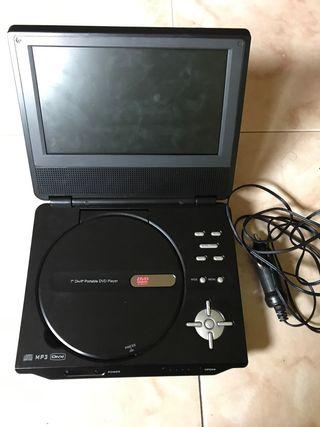 Reproductor de DVD,s portable.