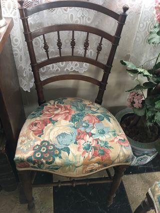 Dos sillitas inglesas
