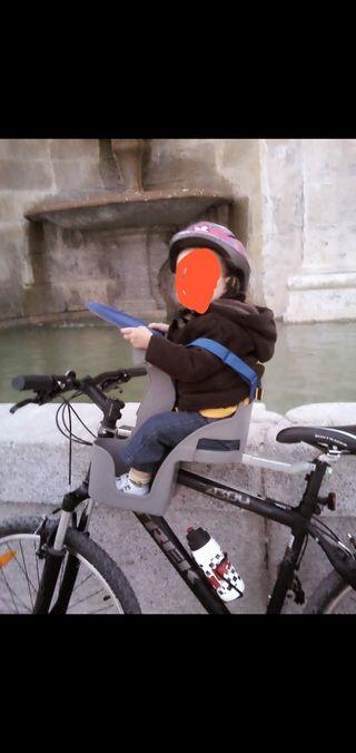 Silla delantera bicicleta weeride