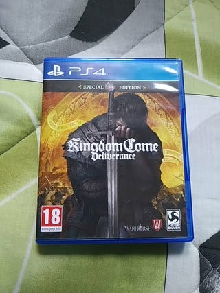 Kingdom Come Deliverance Videojuego PS4