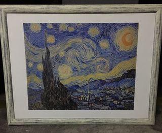 """Cuadro """"La noche estrellada"""", Van Gogh"""
