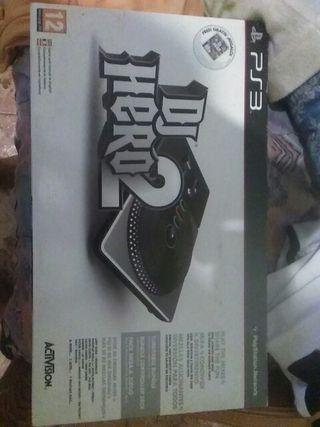 Mesa de DJ Hero 2