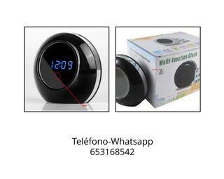 reloj grabadora alarma