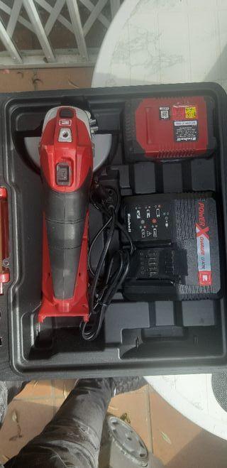 amoladora bateria