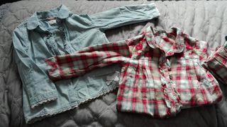 camisas niña