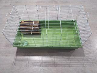 Jaula de conejo grande + Accesorios