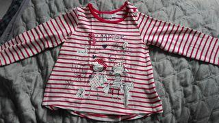 camiseta bebe niña