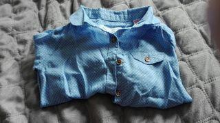 camisa bebe niña