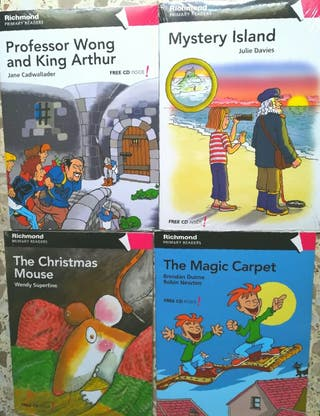 Libros lectura inglés infantiles
