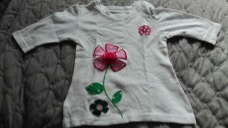 camiseta gap niña