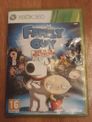 Family guy back to the universe Xbox360