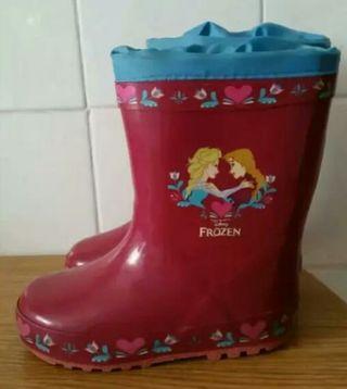 Botas de agua Frozen