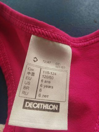 camiseta decathlon.