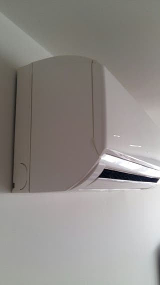 aire acondicionado, consola + mando Mitsubishi