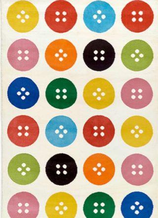 Alfombra Ikea niños colores