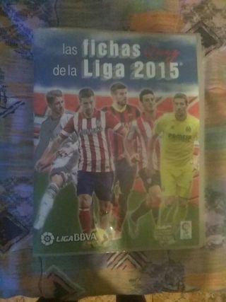 Album FUTBOL liga 2015