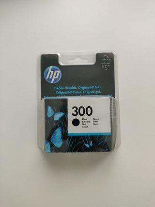 Cartucho impresora HP 300 negro