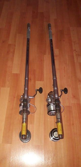 cañas de pesca