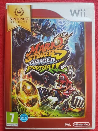 Wii Mario Strikers Charged football