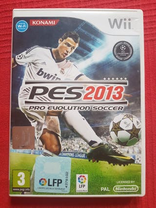 Wii Pro Evolution Soccer 2013