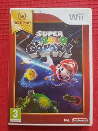 Wii Súper Mario Galaxy