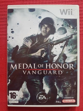 Wii Medal Of Honor:Vanguard