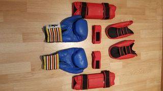 Equipación completa kick-boxing, MMA...