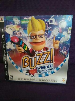 Videojuego PS3 Buzz Special Edition